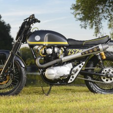 "XS650 Scrambler by Dime City Cycles:  ""XS744"""