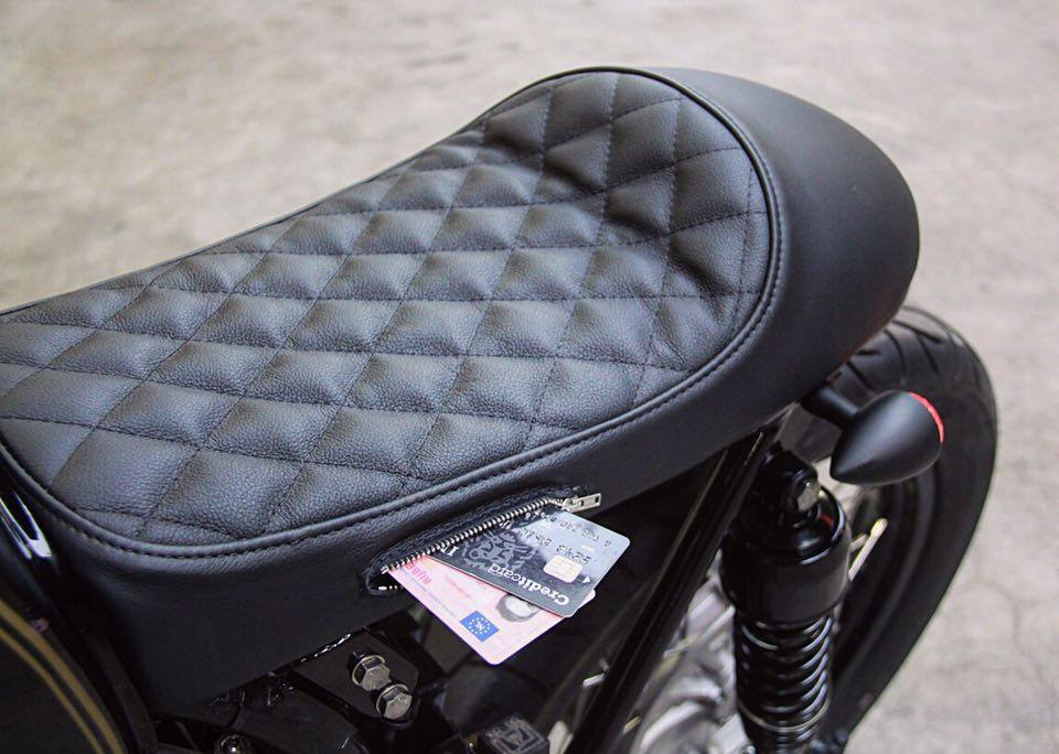 Cafe Racer Seat Storage