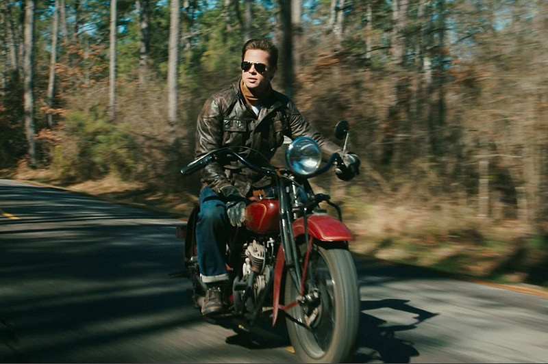 Brat Pitt Benjamin Button Motorcycle