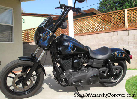 Happy S Motorcycle On Sons Of Anarchy Bikebound