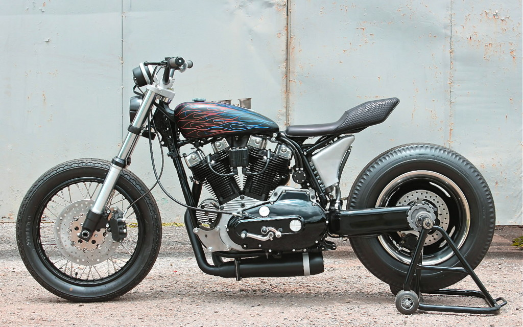 Harley XLH Tracker by SURE SHOT