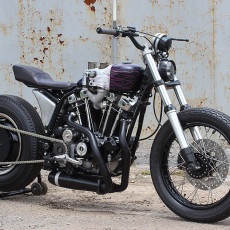 1977 Ironhead Sportster by SURE SHOT