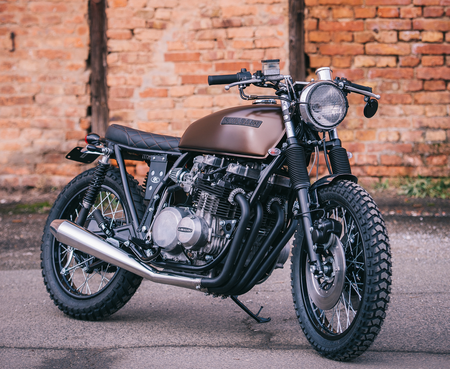 Kawasaki KZ650 Tracker By Retro Bikes Croatia