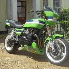 Custom Kawasaki Z1000 by Dave Solomon