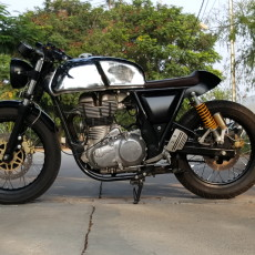 Royal Enfield GT Cafe Racer by J&D Custom Co.