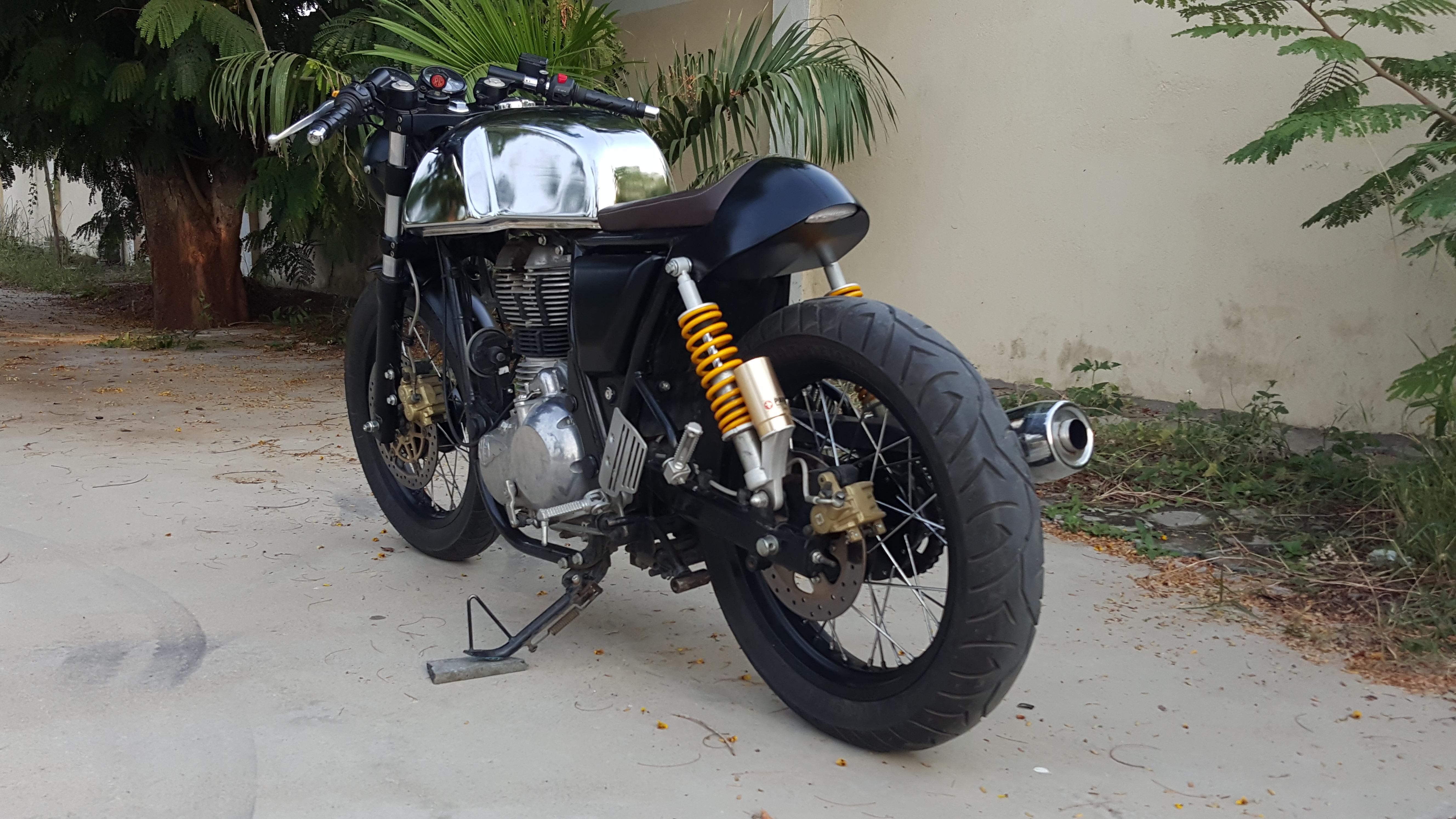 royal enfield gt cafe racerj&d custom co. – bikebound