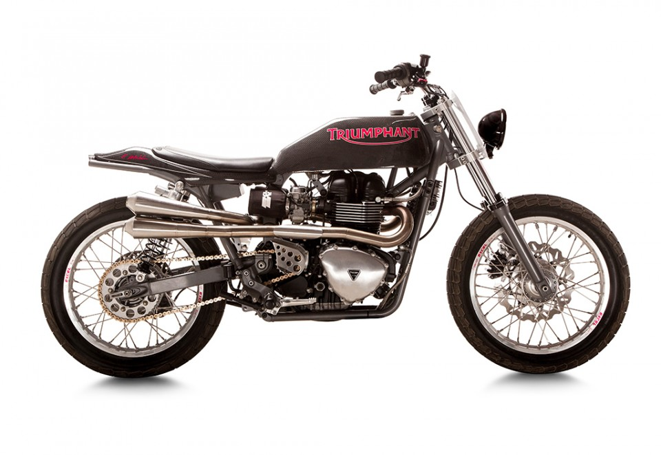 Triumph Bonneville Tracker British Customs