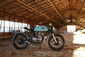 Honda CB350F Cafe Racer