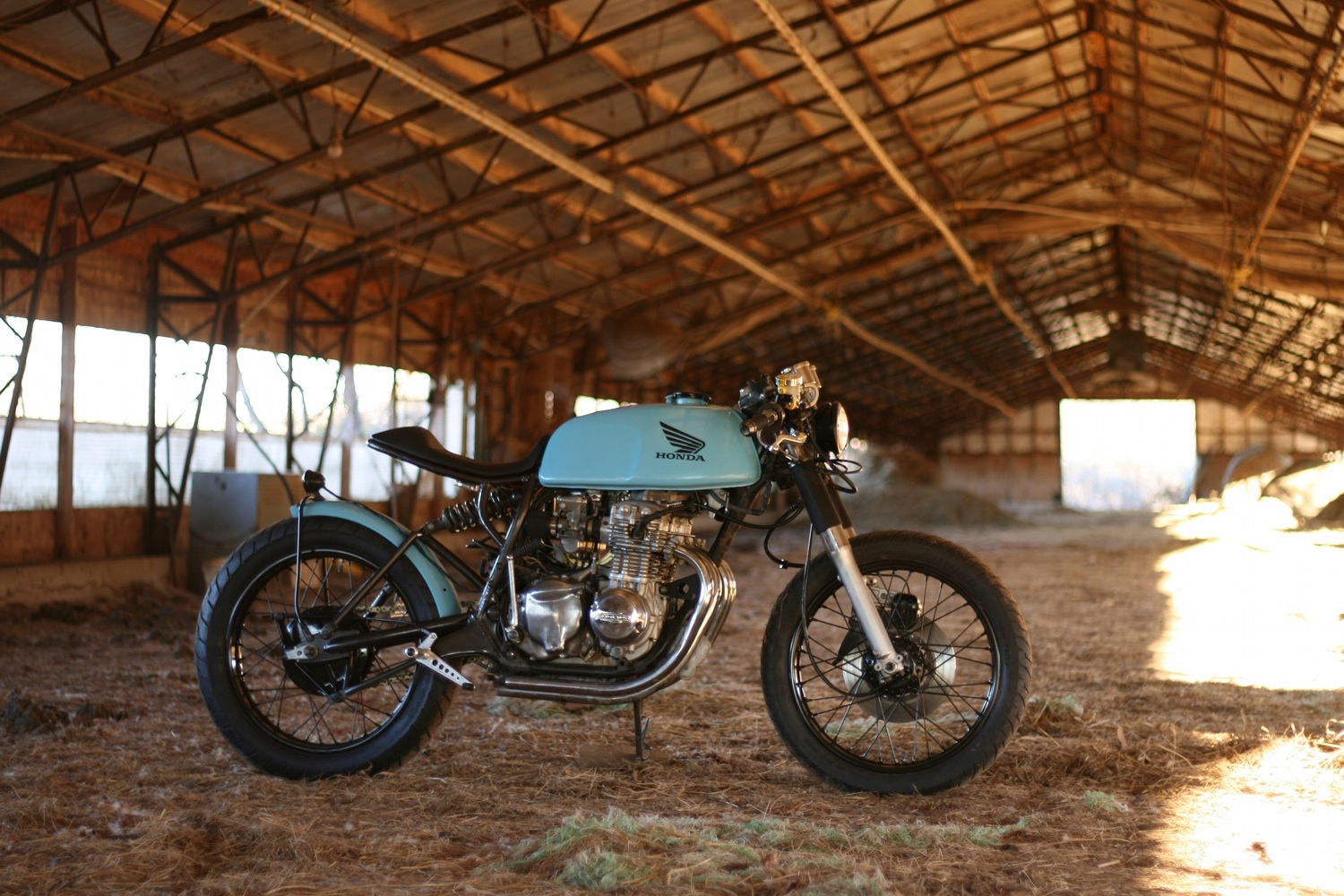 Honda CB350F Cafe Racer by Will Hight