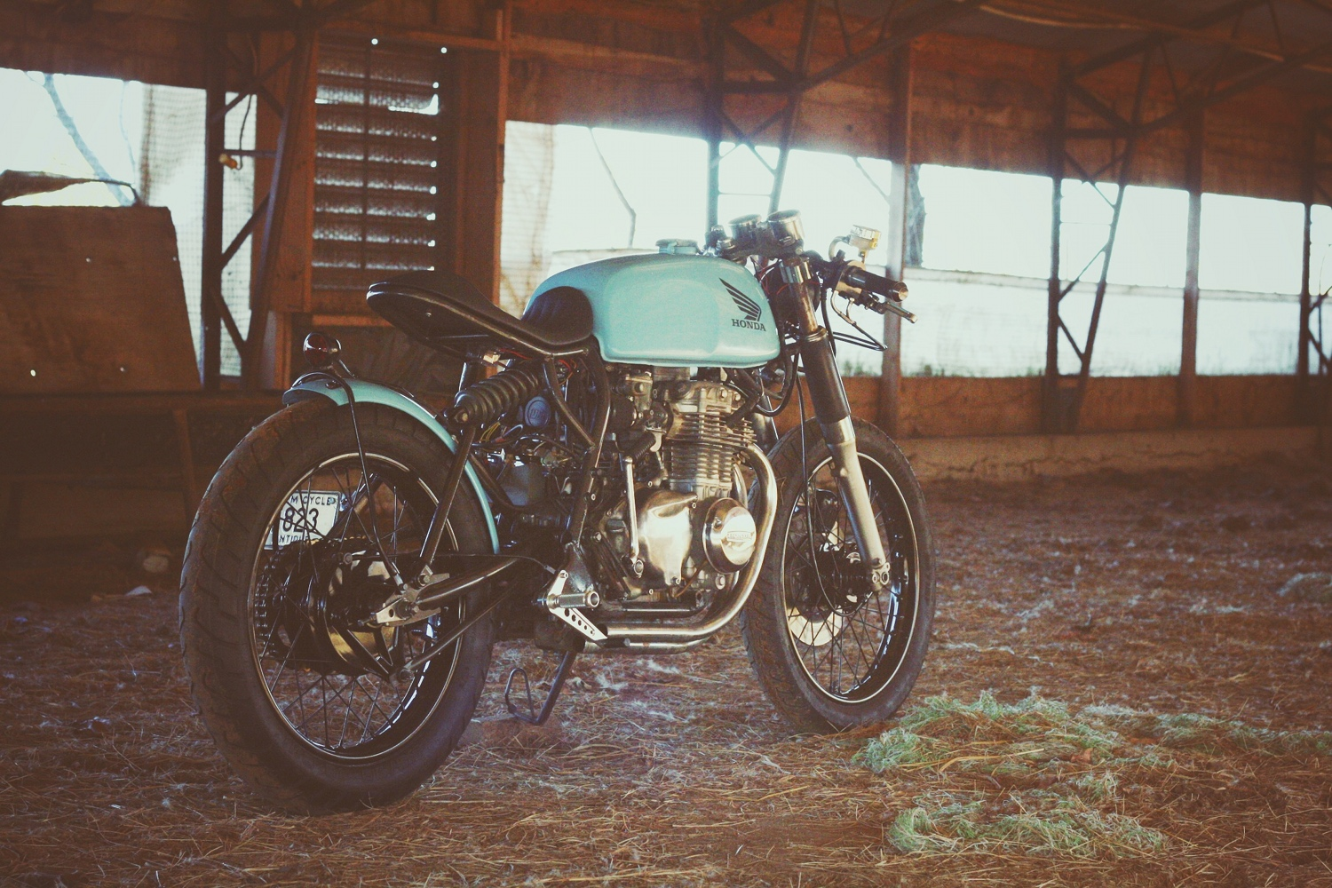 Honda CB350F Cafe Racer By Will Hight BikeBound