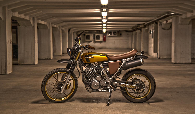 honda nx650 scrambler by janne hietakangas bikebound. Black Bedroom Furniture Sets. Home Design Ideas