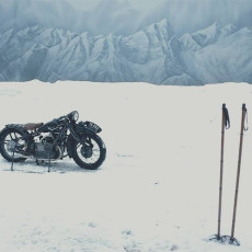 BMW R11 Motorcycle from The Grand Budapest Hotel