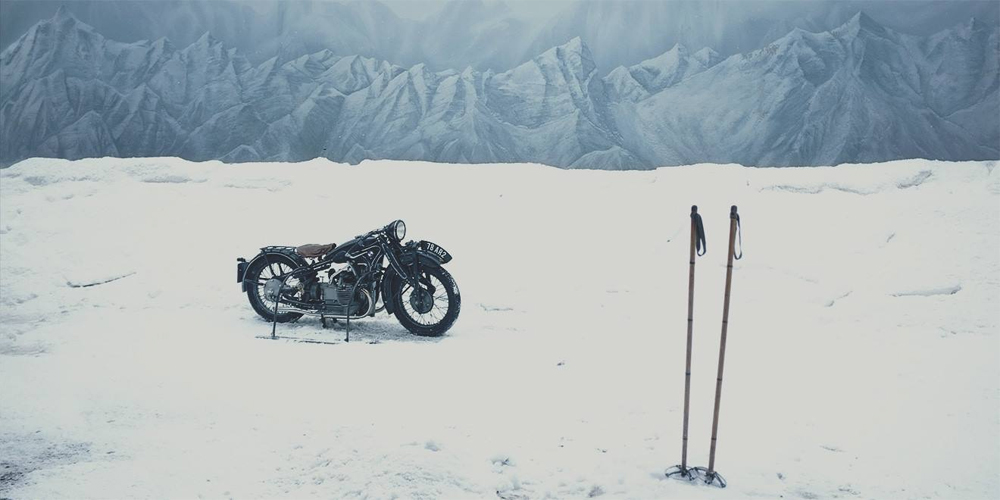 Motorcycle from Grand Budapest Hotel