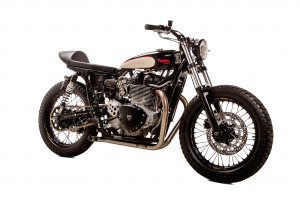 """Nutterized"" Thruxton Tracker by British Customs – BikeBound"