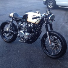 CB550 Cafe Racer Sin City Vintage Cycles