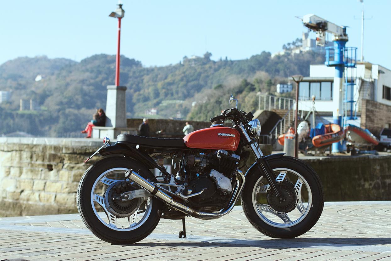 honda cbx400 custom by cafe racer sspirit bikebound rh bikebound com Honda Automatic Motorcycles Honda Automatic Motorcycles