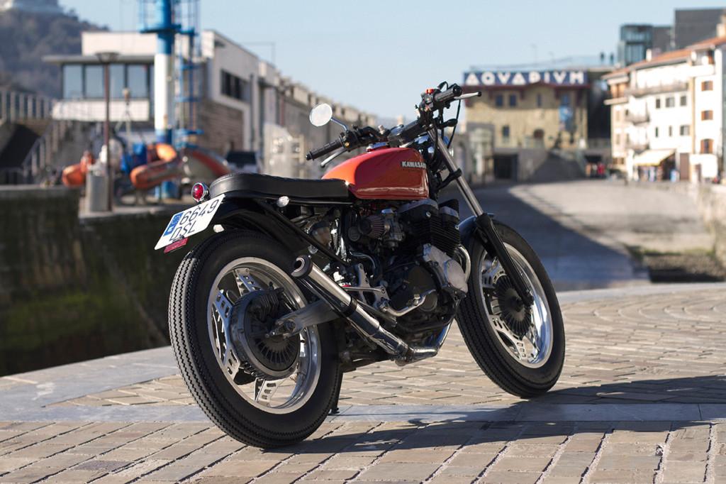 Honda CBX400 Bratstyle