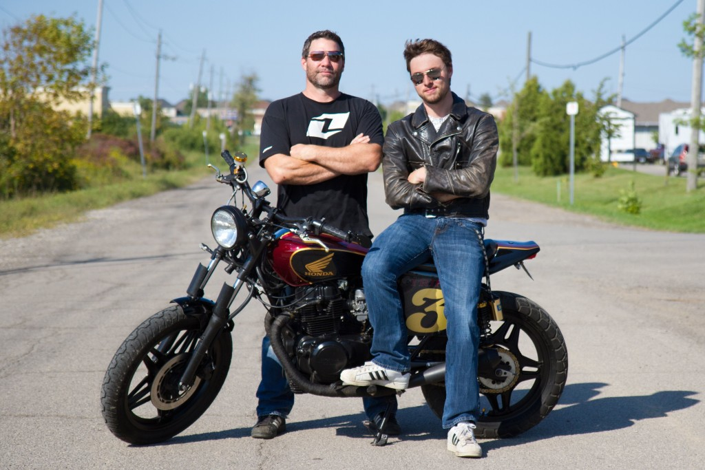 CB450 Tracker by Brent and Tyler Thompson