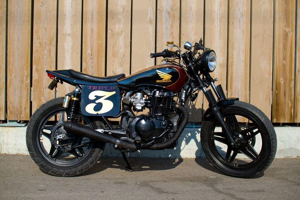 Honda CB450 Street Tracker By Tyler Brent Thompson BikeBound