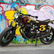 Honda CB450 Street Tracker By Tyler Brent Thompson