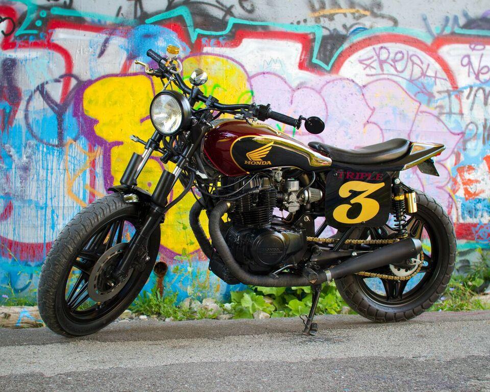 Honda CB450 Street Tracker