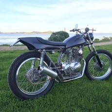 Honda CL77 Tracker by Dillon Sheppard