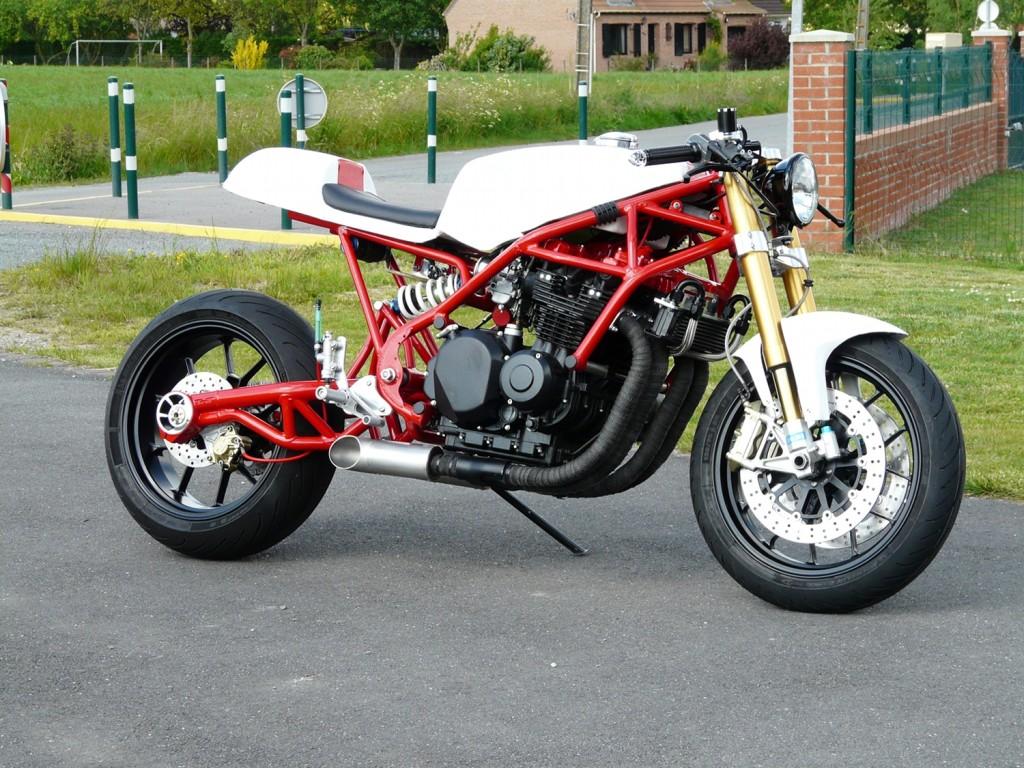 Martin Cafe Racer X on 1980s Suzuki Motorcycles