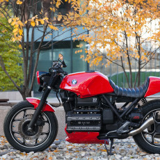 BMW K100 Custom by Z17 Customs