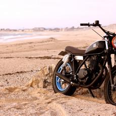 Suzuki GN250 Tracker by Trintaeum Motorcycles