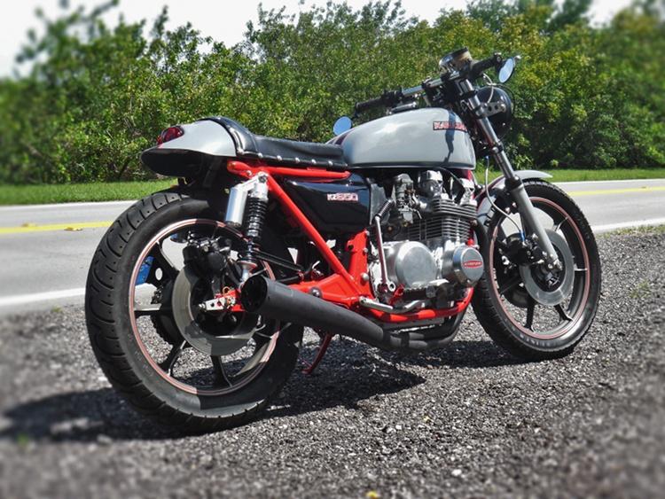 Kawasaki KZ650 Cafe Racer 1