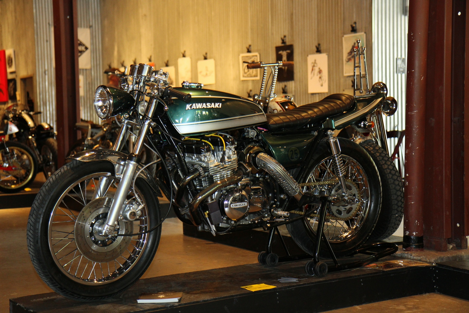 Turbocharged Kawasaki KZ650 – BikeBound