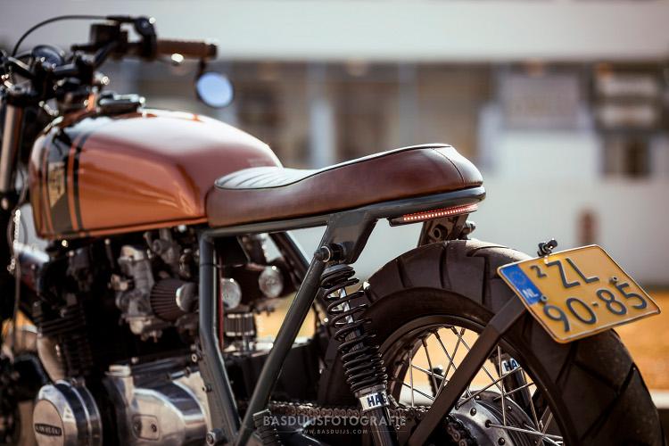 Kawasaki Z650 Brat Bike