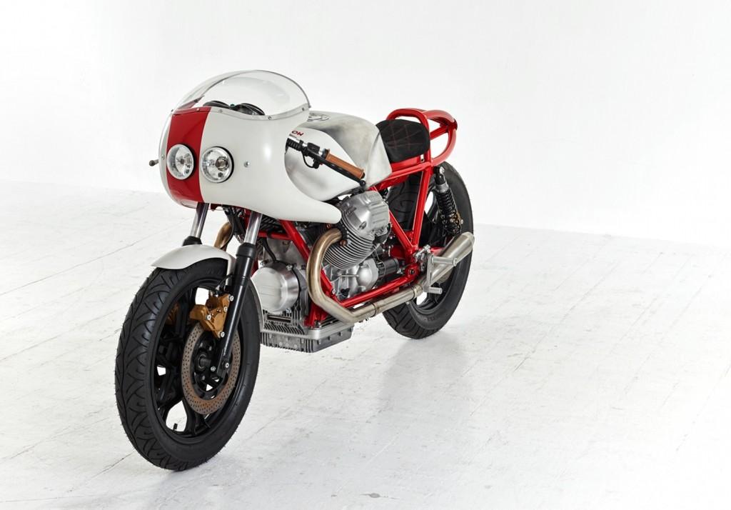 moto guzzi le mans cafe racer by dmol bikebound. Black Bedroom Furniture Sets. Home Design Ideas