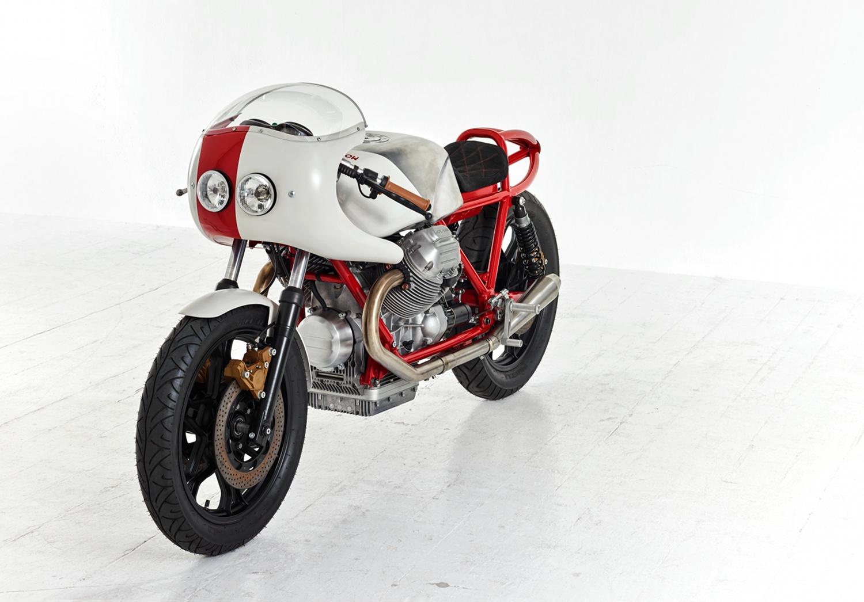 Moto Guzzi Le Mans Cafe Racer By Dmol Bikebound