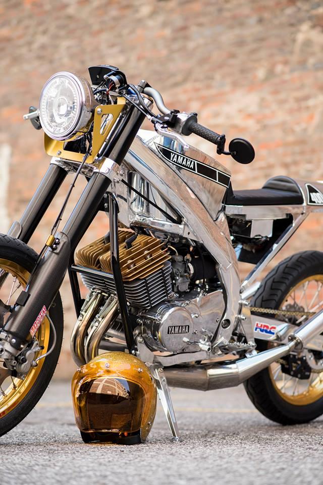Custom CRF450 Cafe Racer