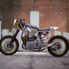 Yamaha RD400 Custom by Keith Carlson