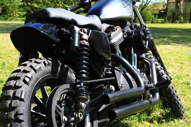 Sportster Iron 2016 >> Iron 883 Scrambler by 56 Motorcycles – BikeBound