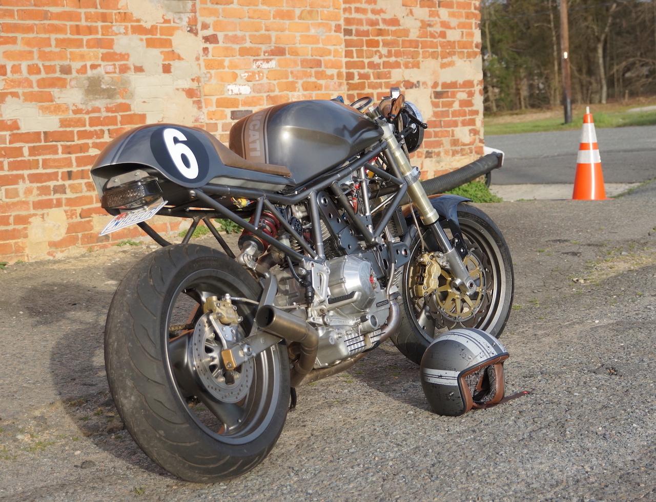 Building A Ducati Cafe Racer