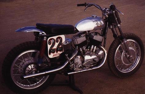 Harley KRTT Desert Sled