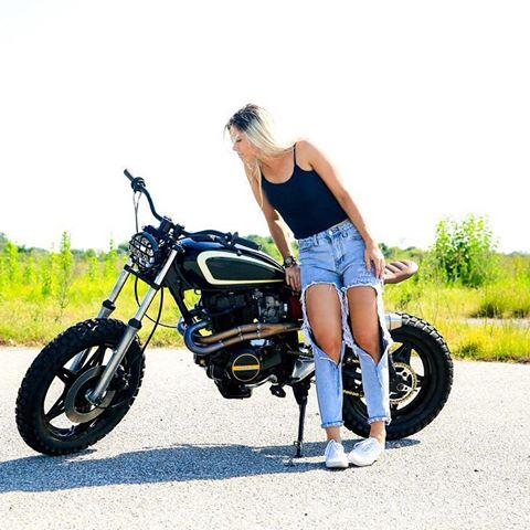 honda cm400 tracker by drake speed shop bikebound. Black Bedroom Furniture Sets. Home Design Ideas
