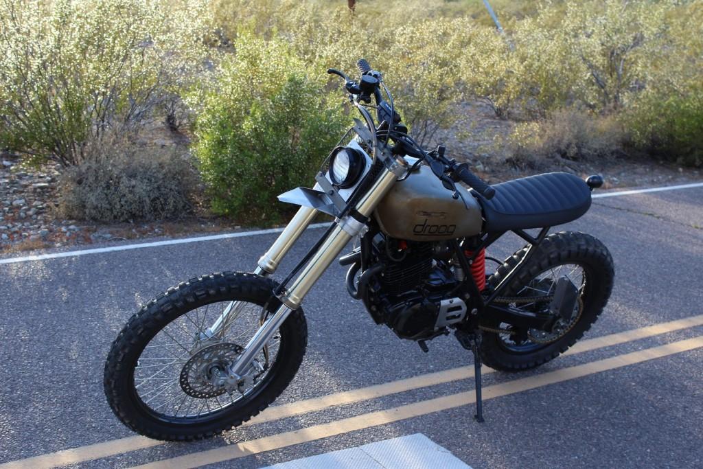 Honda Dual Sport 250 >> Honda XR500 Scrambler by Droog Moto Concepts – BikeBound