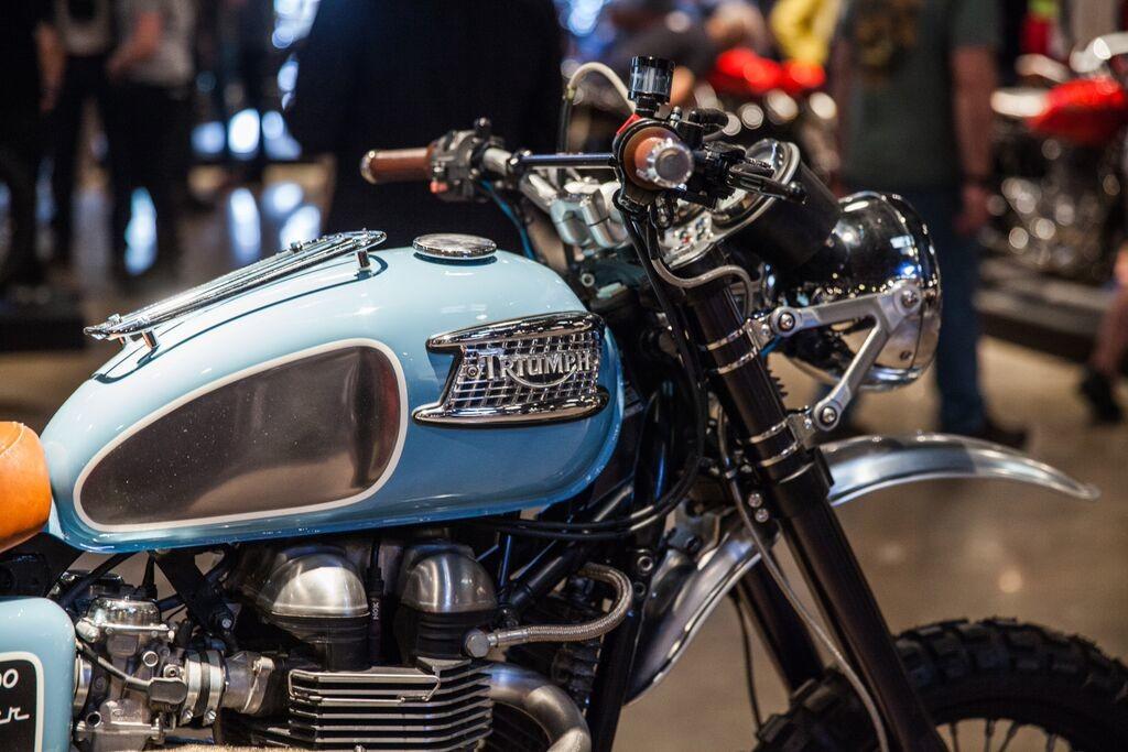 Triumph Custom Scrambler