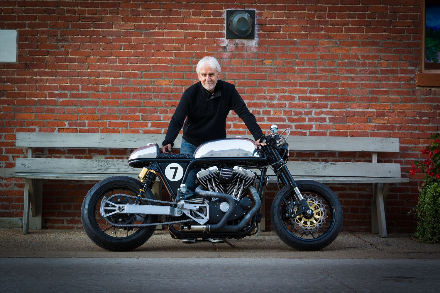 Connu Sportster Cafe Racer by Ardent Motorcycles – BikeBound TZ21