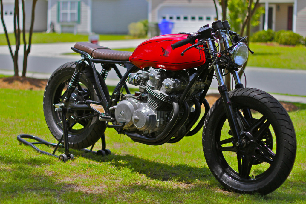 Honda CB750 Brat Cafe