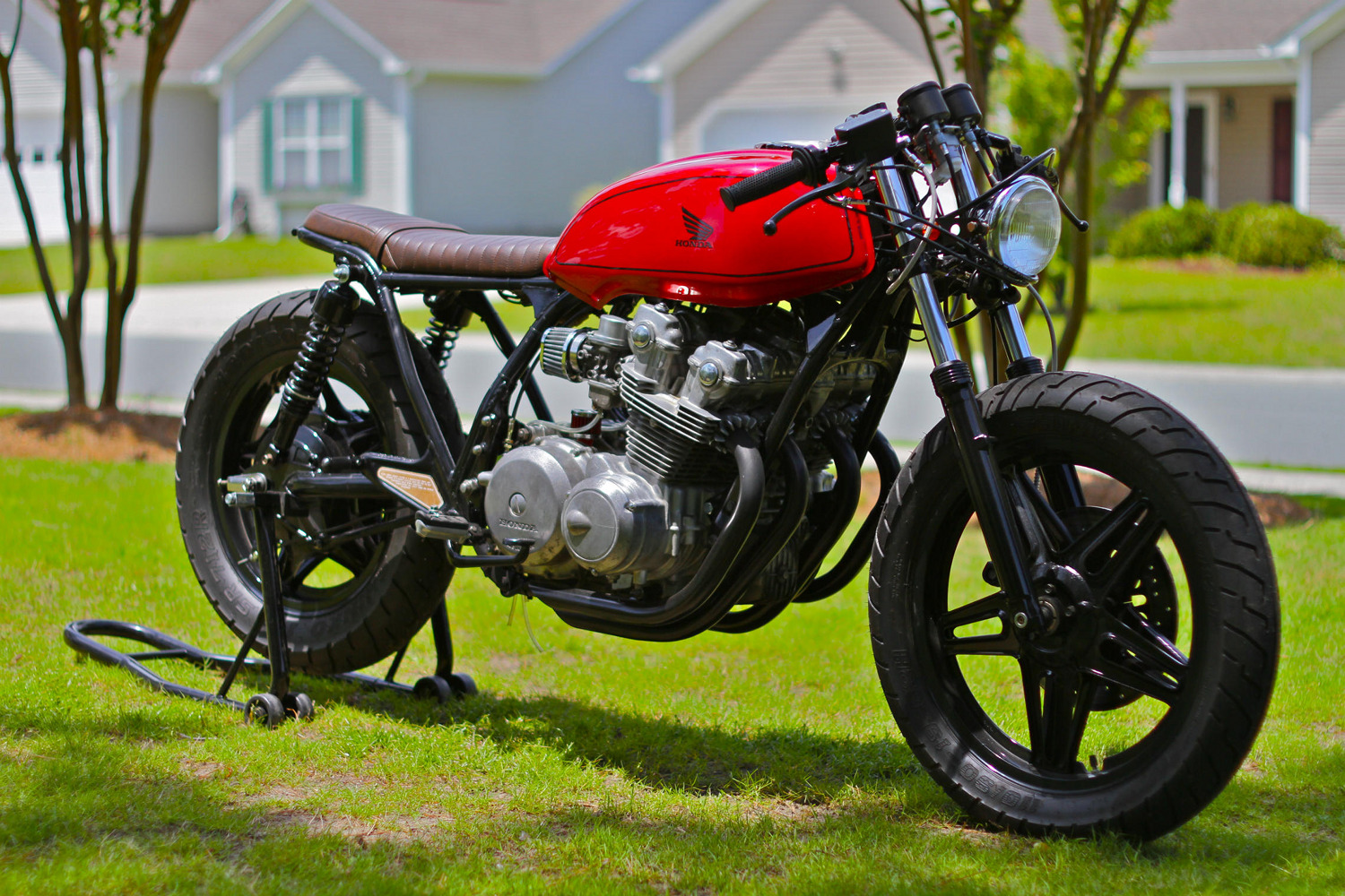 Honda Cb750 Brat Cafe on honda cb750 custom cafe racer