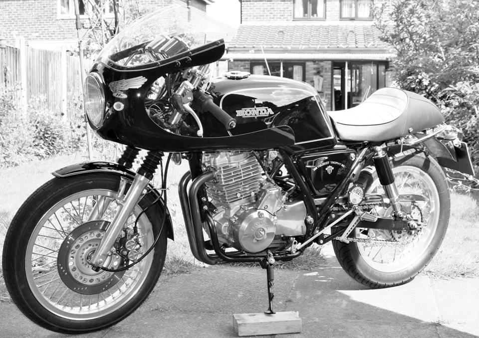 Honda Gb500 Tt Cafe Racer Bikebound