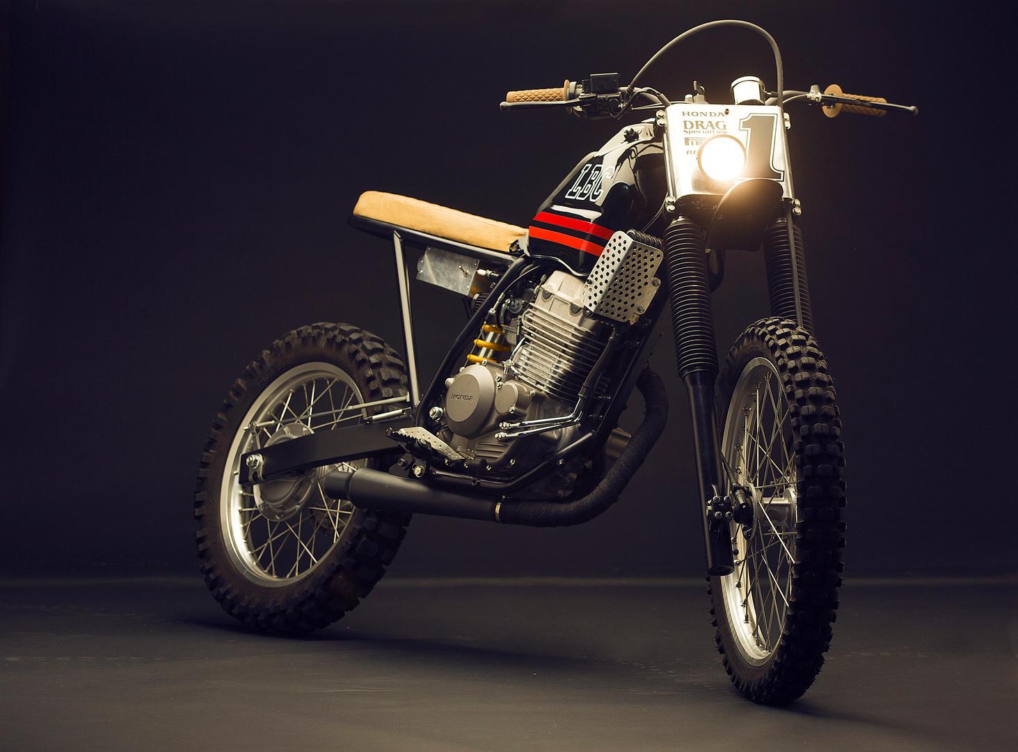 Honda Tornado Street Tracker by Low Budget Customs – BikeBound