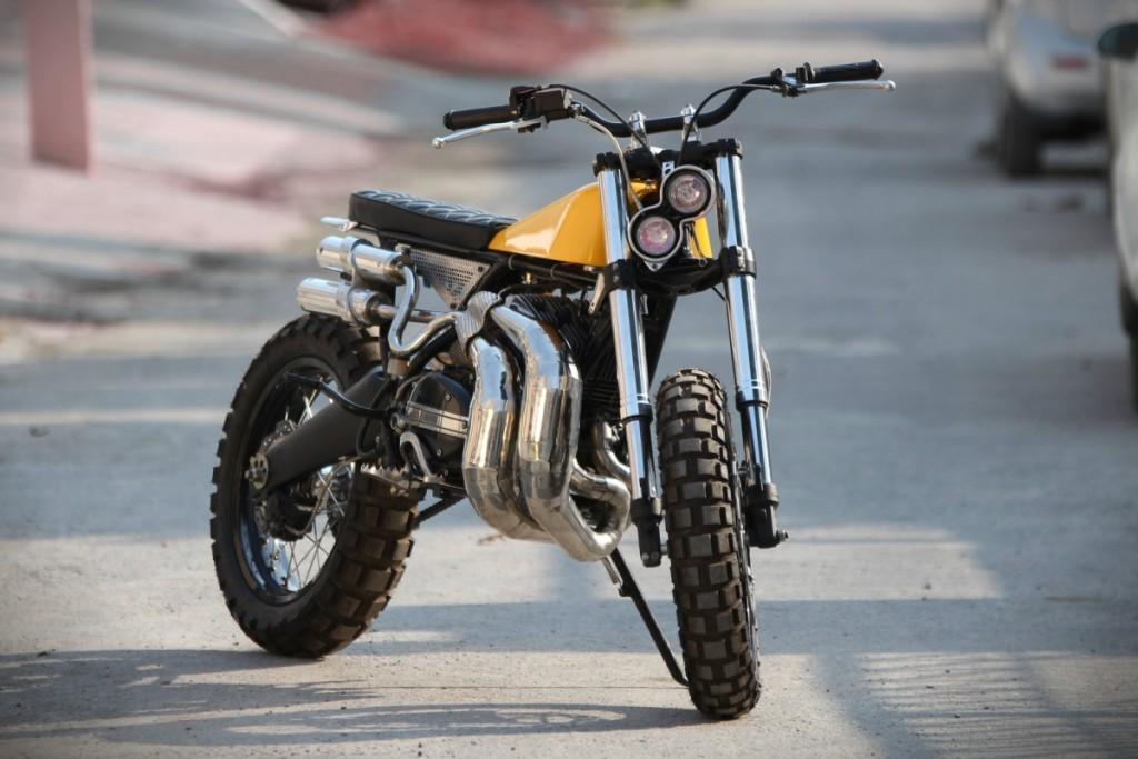 Yamaha RD350 Scrambler