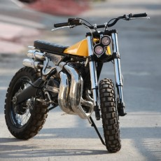 Yamaha RD350 Scrambler by Moto Exotica