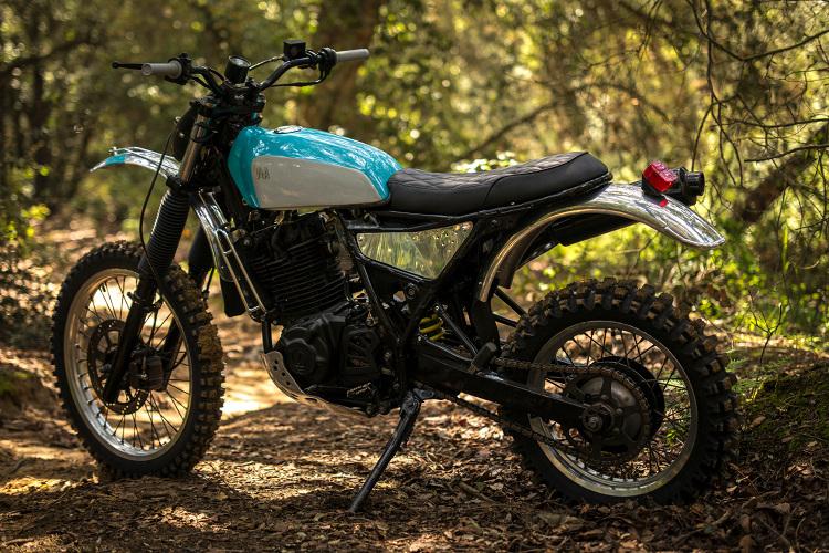 Yamaha Dual Sport >> Suzuki DR600 Scrambler by Vintage Addiction – BikeBound